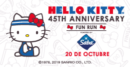 HELLO KITTY FUN RUN - 45 AÑOS